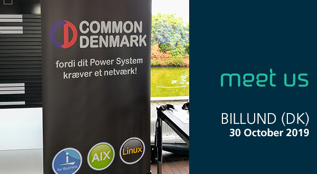 Meet us at the Common Denmark Power Summit 2019