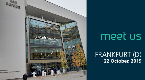 Meet us at the at the IBM Think Summit 2019 in Frankfurt