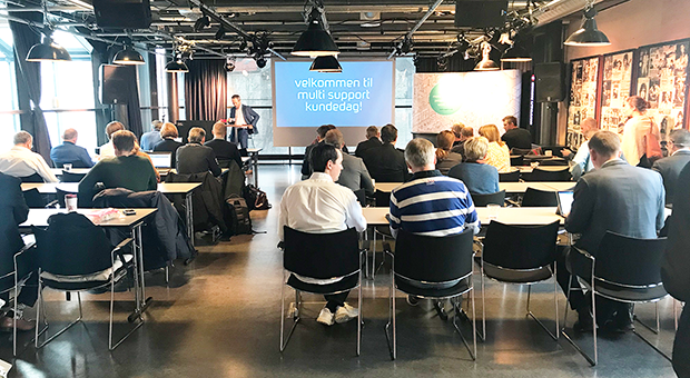 The customer day 2018 in Oslo is live