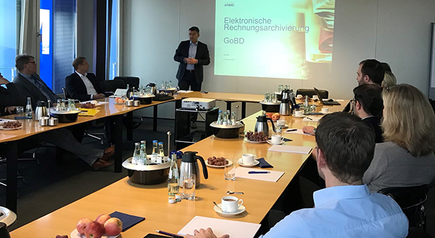 Our invoice processing workshop at KPMG in Hamburgis is live